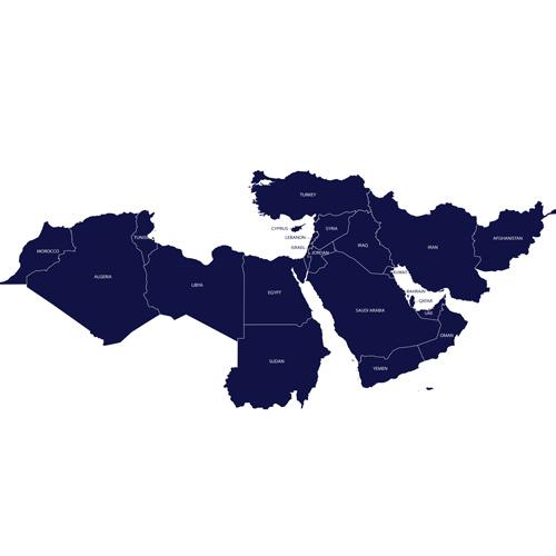 Bandeira da MENA