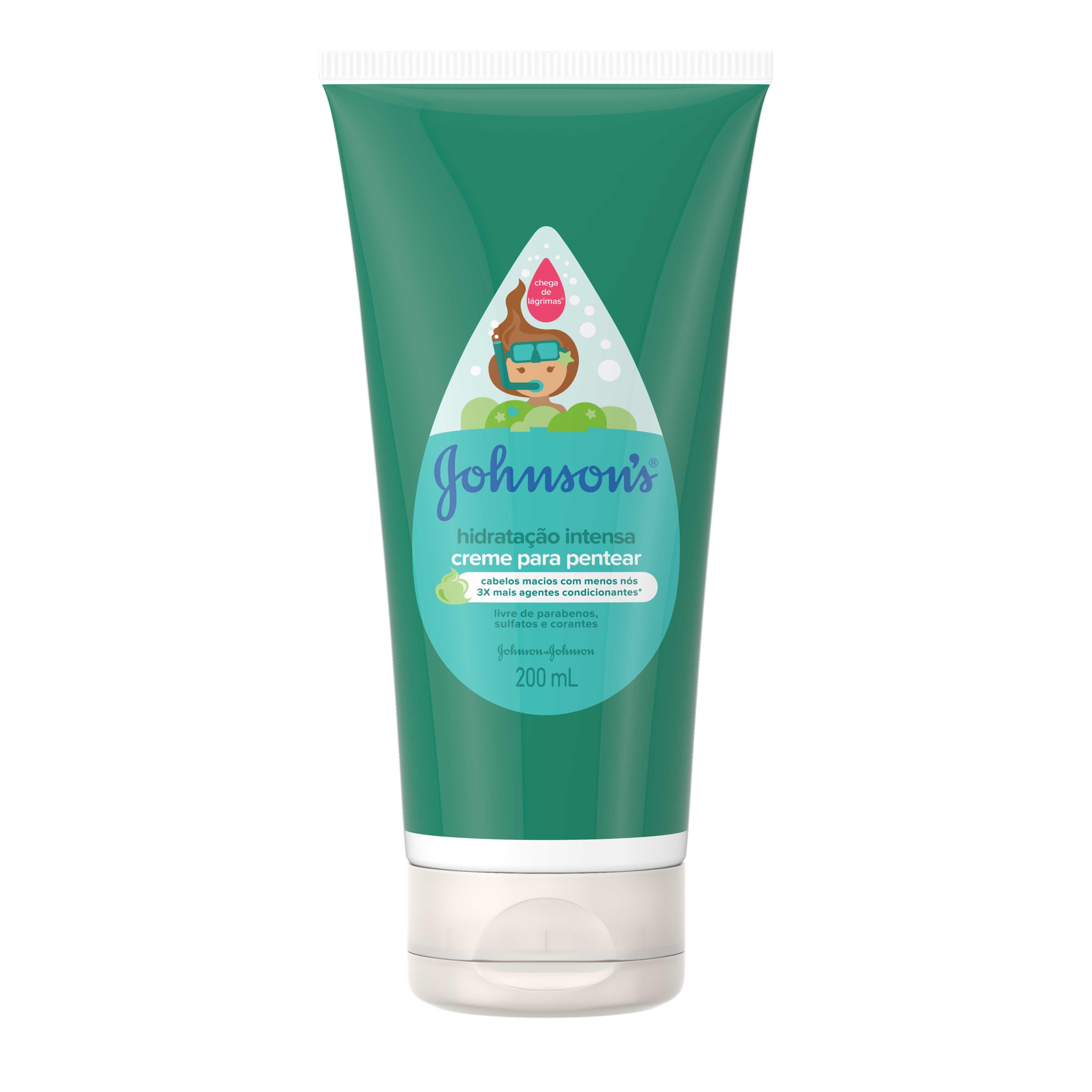 JOHNSON'S® Creme para Pentear Hidratação Intensa