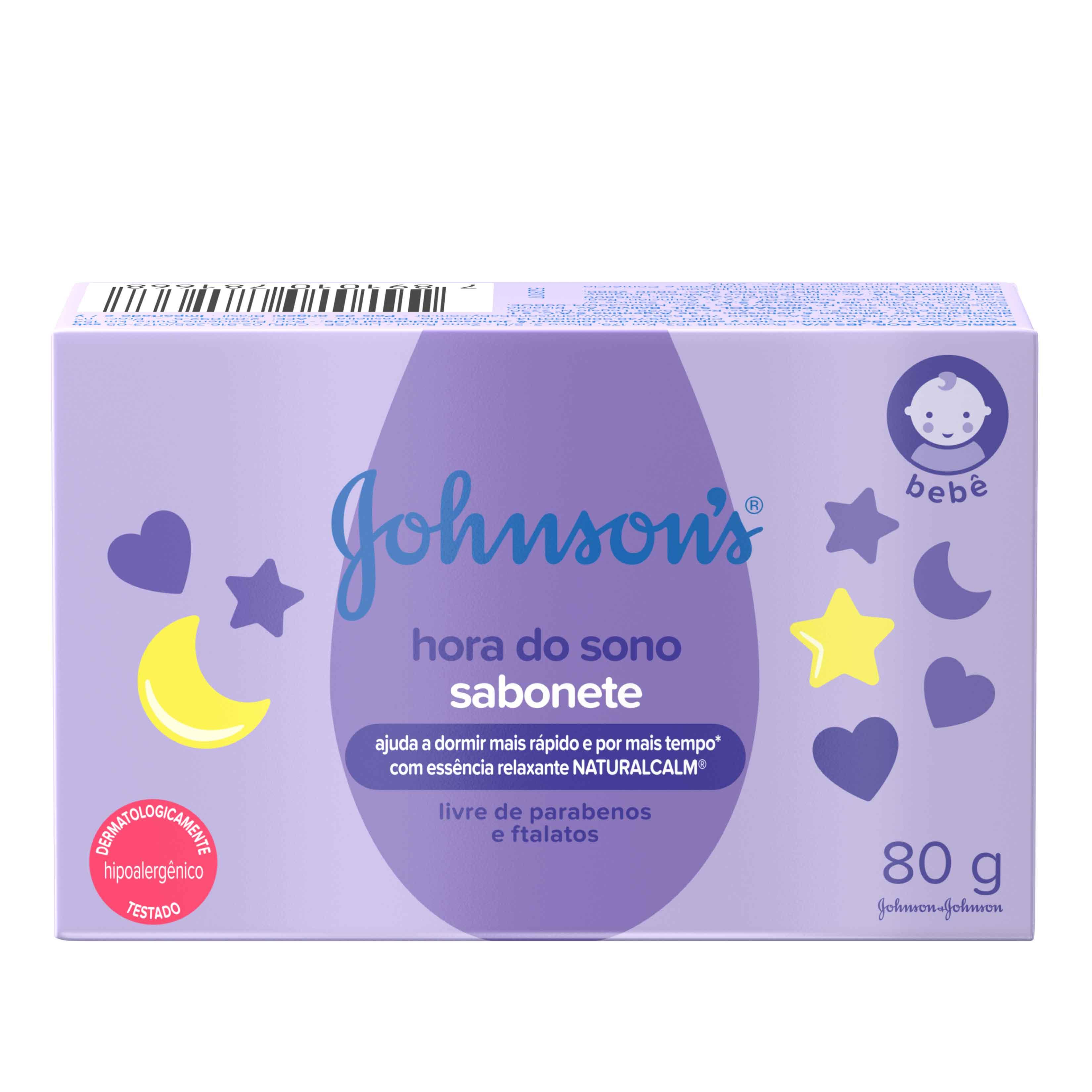 JOHNSON'S® Sabonete em Barra Hora do Sono