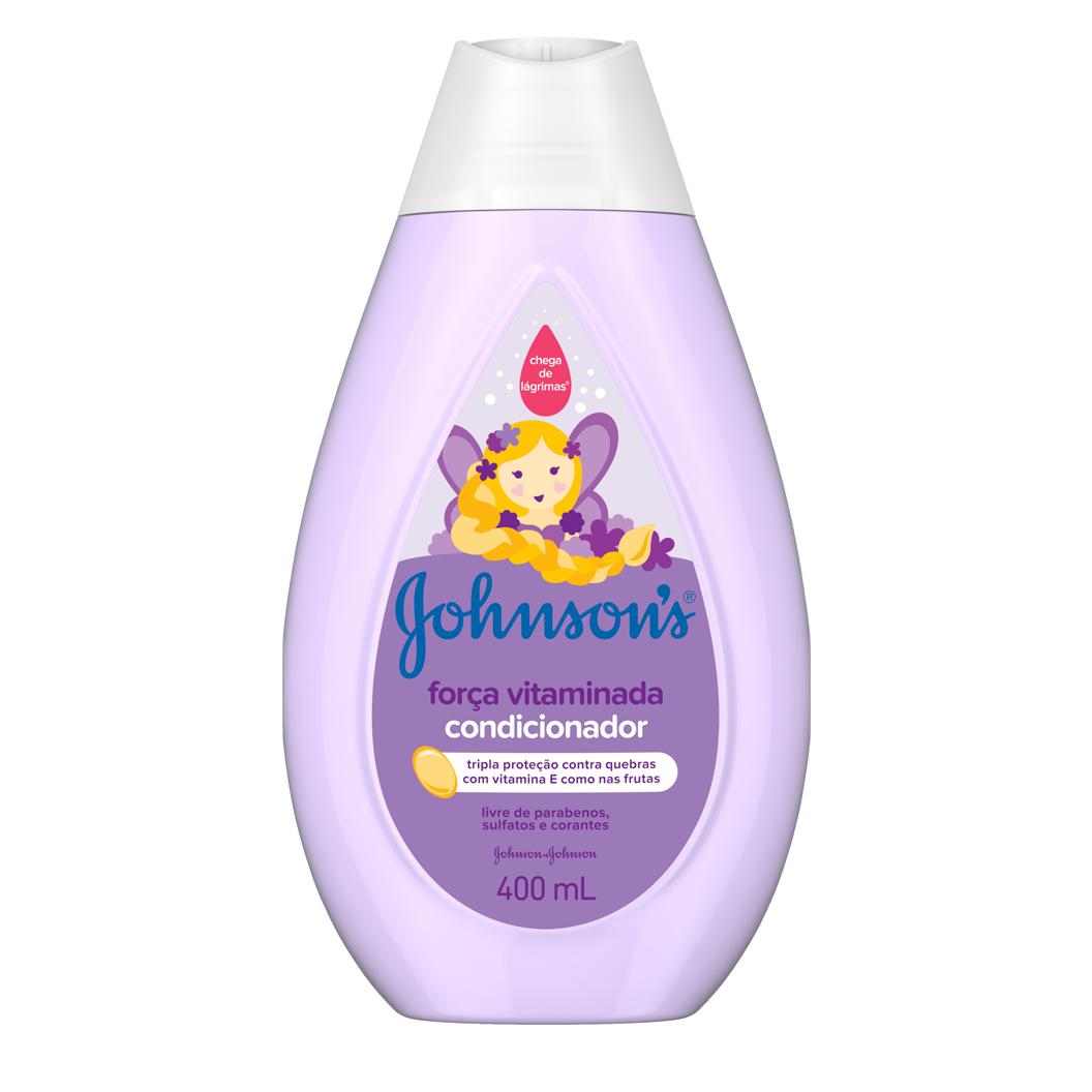 Johnson's® Condicionador Força Vitaminada