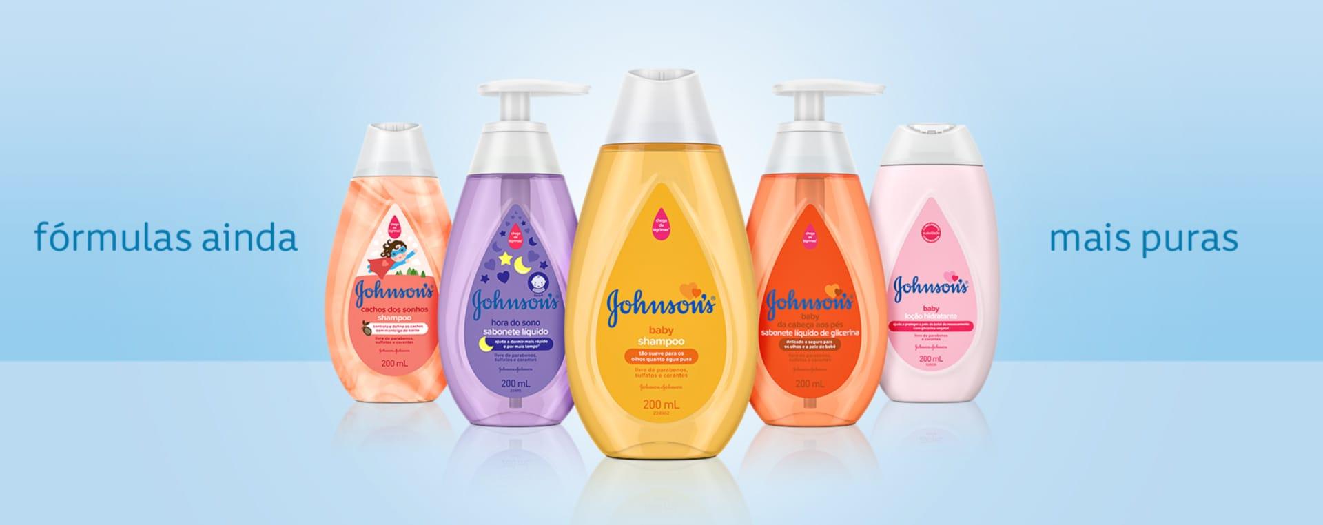 Produtos Jhonson's baby