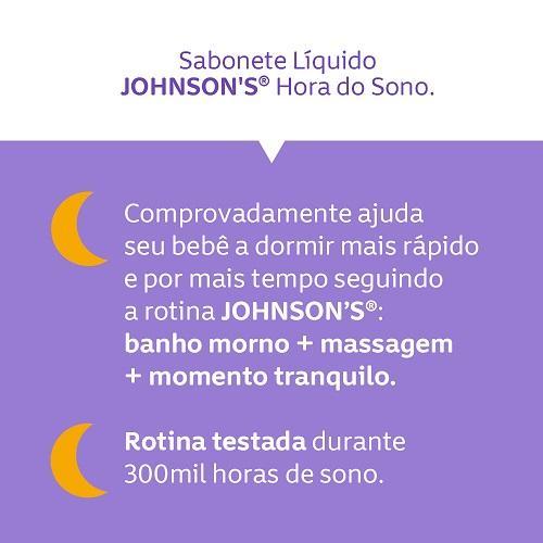 JOHNSON'S® Sabonete Líquido Hora Do Sono