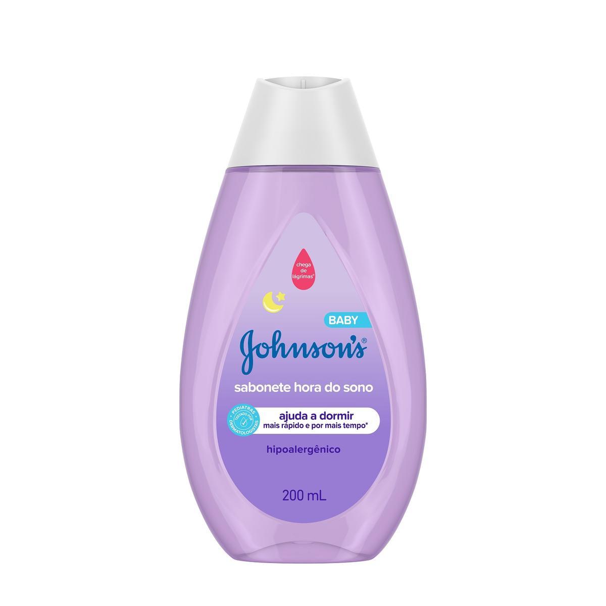 JOHNSON'S® Sabonete Líquido Hora Do Sono 200ml front