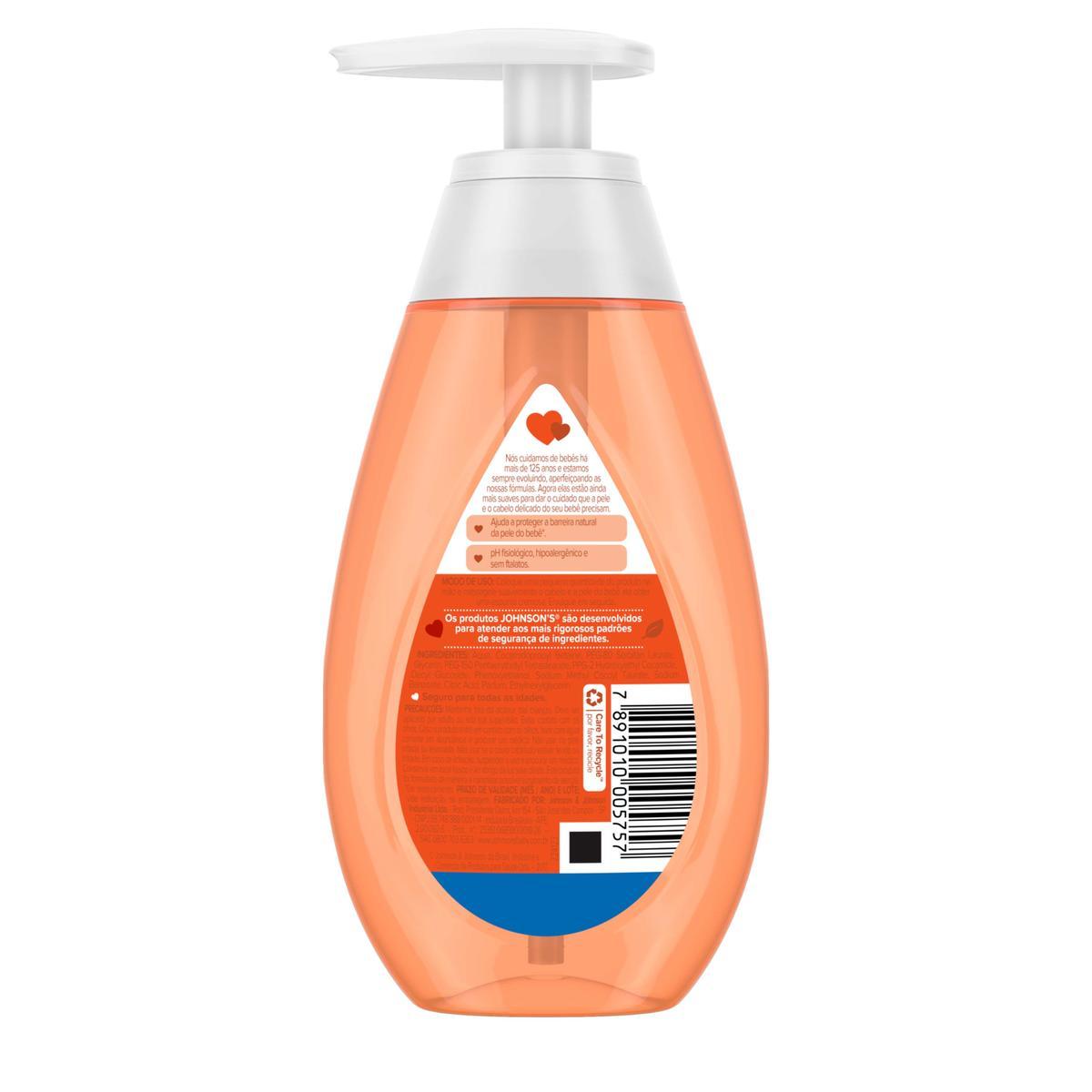 Johnson's® Sabonete Líquido de Glicerina Da Cabeça aos Pés