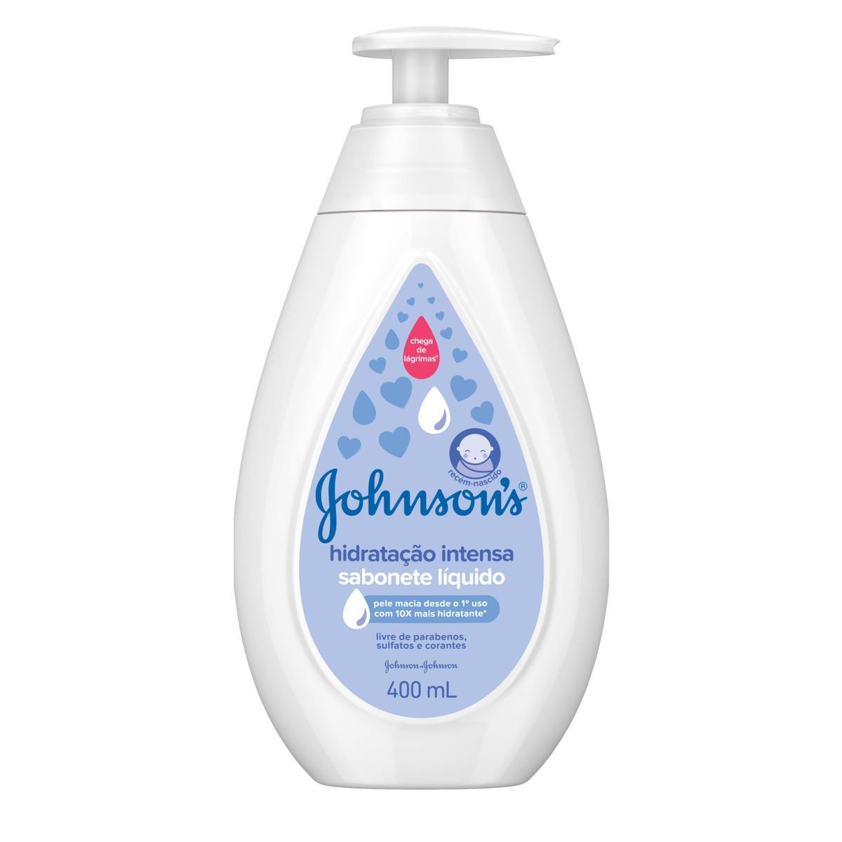 JOHNSON'S® Sabonete Líquido Hidratação Intensa
