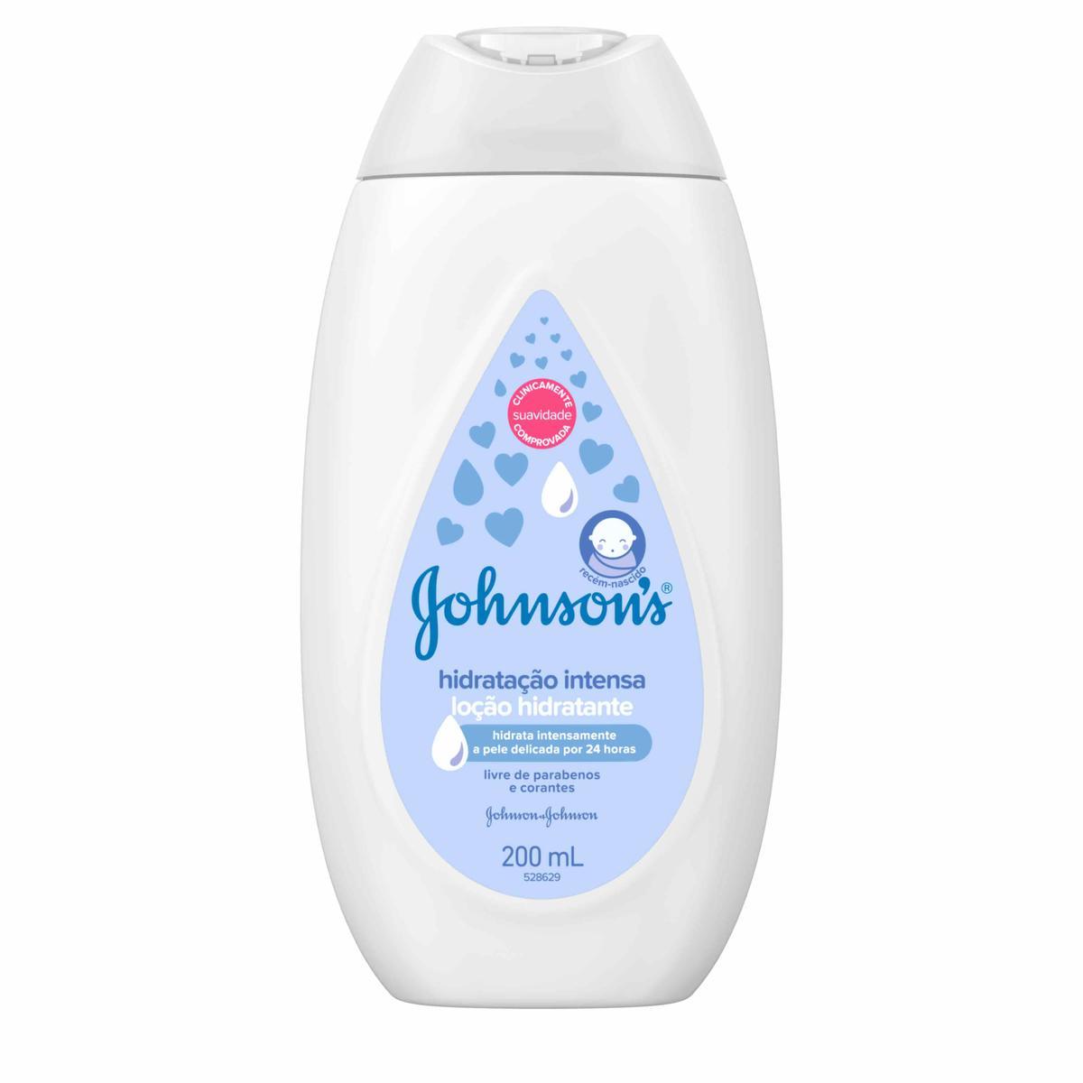 JOHNSON'S® Loção Hidratante Hidratação Intensa