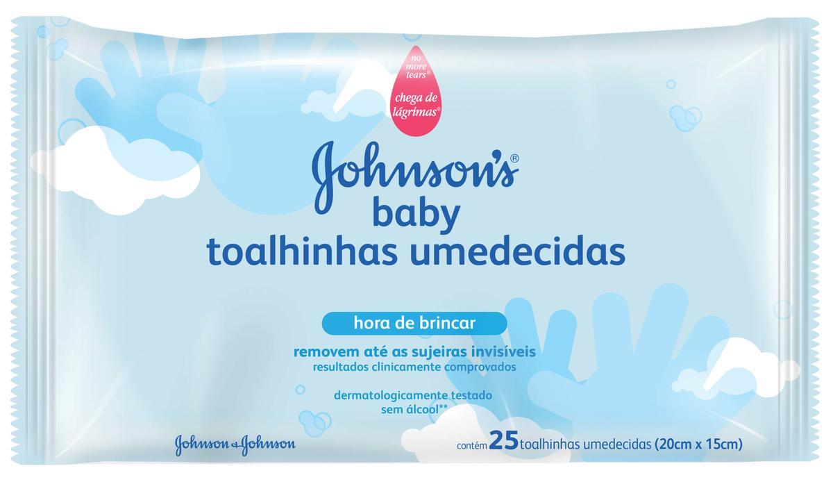 JOHNSON'S® Toalhinhas Hipoalergênicas Hora de Brincar
