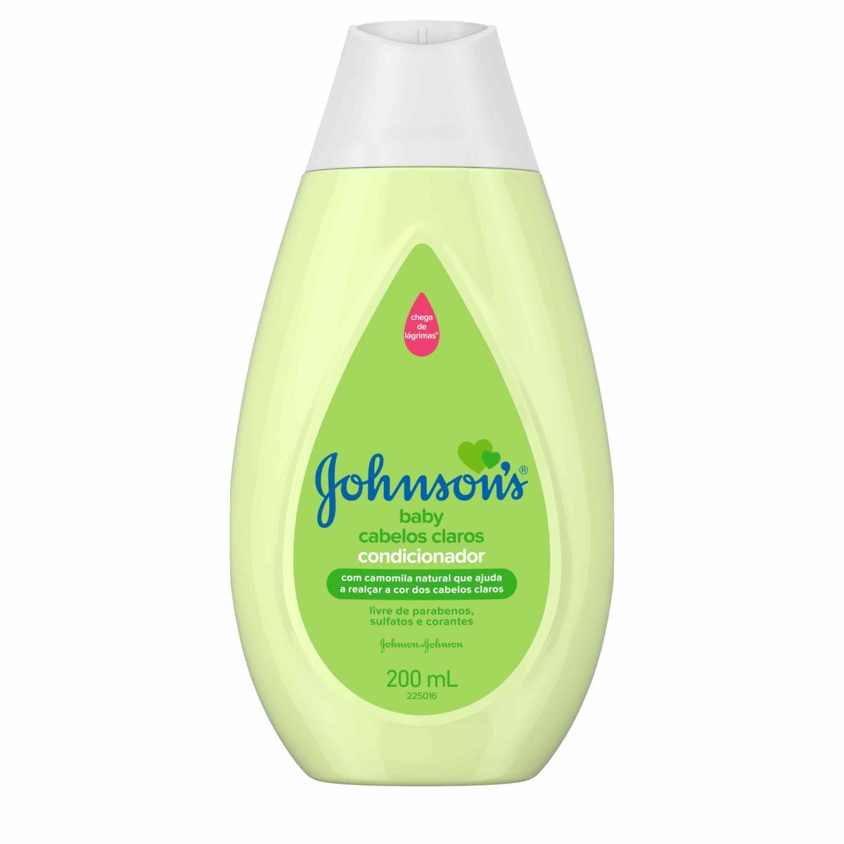 JOHNSON'S® Baby Condicionador Cabelos Claros