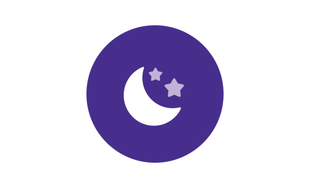 Ícone de lua - rotina Johnson's® Hora do Sono