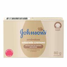 JOHNSON'S® Baby Sabonete em Barra Óleo de Amêndoas