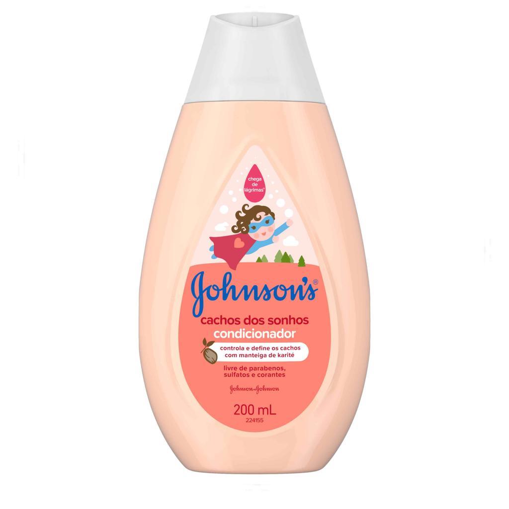 JOHNSON'S® Condicionador Cachos dos Sonhos