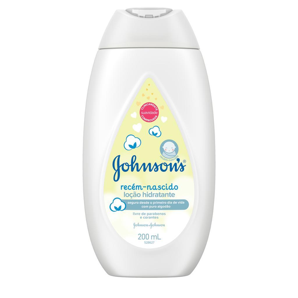 Johnson's® Loção Hidratante Recém-nascido