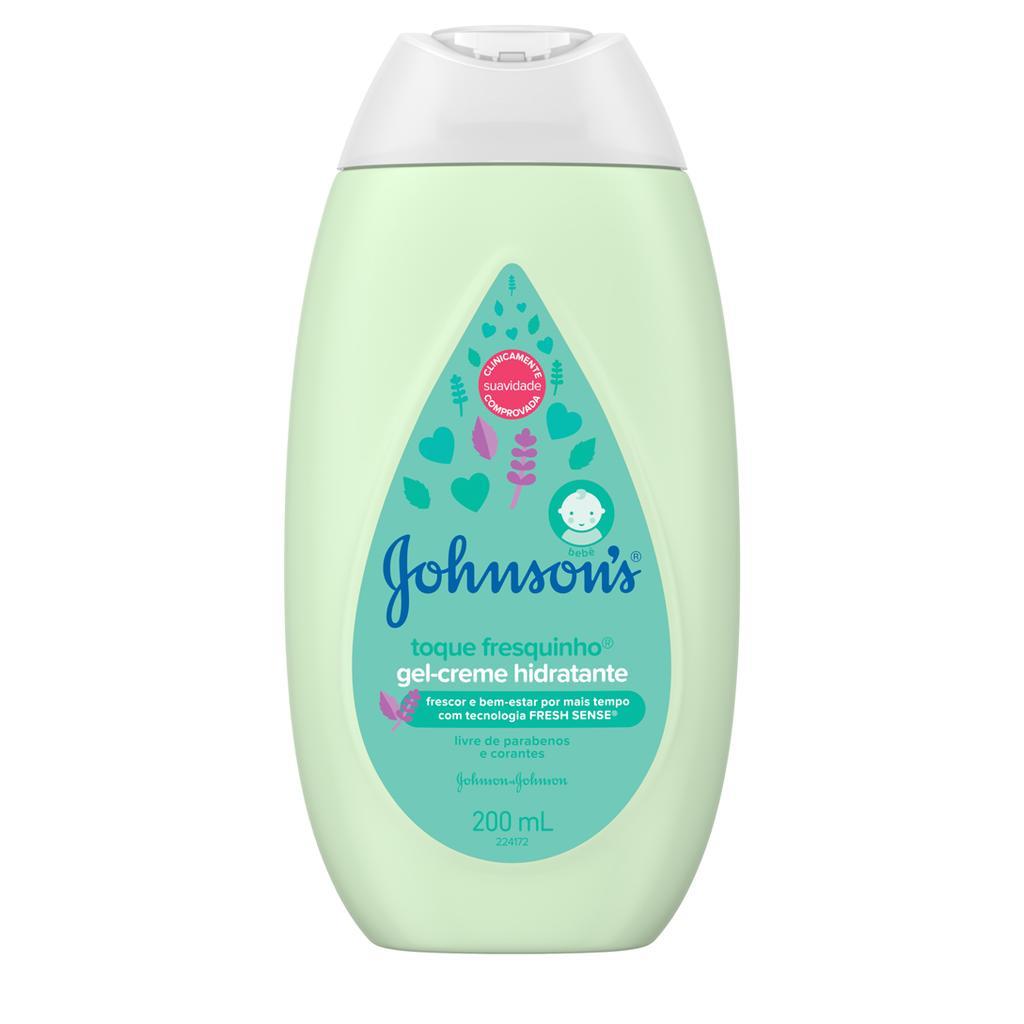 Johnson's® Gel-creme Hidratante Toque Fresquinho